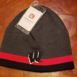 University of Wisconsin Embroidered Knit Hat, NWT